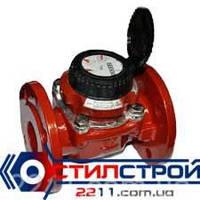 Счетчик воды (водомер) турбинный, Ду100, Py16,для горячей воды фланцевый, тип MWN,PoWoGaz-Польша