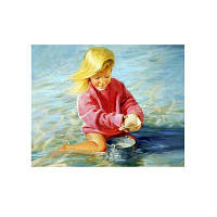 Naiyue 7222 Приморский детский рисунок для рисования Алмазный рисунок Цветной
