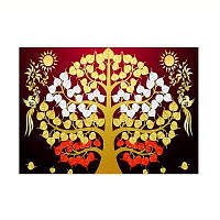 Naiyue 9833 Дерево Print Draw Diamond Drawing золотой и красный