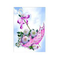 Naiyue 9842 Umbrella Print Draw Алмазный рисунок Цветной
