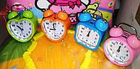 """Часы-будильник """"Endjoy"""" с плавным ходом, 4 вида"""