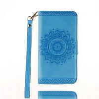 Роскошный ретро-чехол Mandala Flip для Samsung Galaxy Note5 Синий