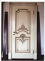 Деревянная дверь под заказ