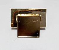 Замок для ж.сумки цвет золото 33 х 40 мм.