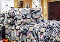 Полуторный комплект постельного белья «Кораблики»