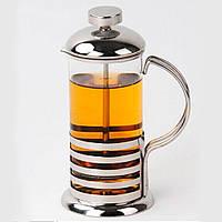 """Френч-пресс для чая и кофе """"Полоски"""" 800 мл, фото 1"""