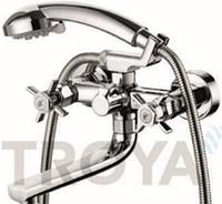 Смеситель для ванны короткий гусак TROYA QMG3-A621