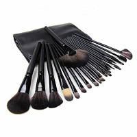 Мисс 24-32 шт Кисти для макияжа Косметический инструмент Фонд Eyeshadow порошок Макияж кисти Set+Сумка pincel maquiagem -H439SCX 24 шт