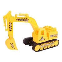 Игрушка для перевозки экскаваторов повышенной проходимости для детей с когтем с лопатой Жёлтый