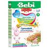 Безмолочна низкоаллергенная каша Bebi Premium гречана з пребіотиками, 200 г