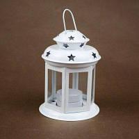 Европейский и американский наружный железный подсвечник для освещения фонаря на свадебной церемонии рождения R Белый