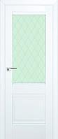 Двери Эко Винир Классик  VС02 белый матовый, ясень кремовый