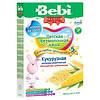Безмолочна низкоаллергенная каша Bebi Premium кукурудзяна з пребіотиками, 200 г