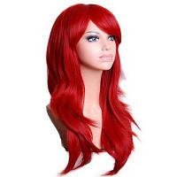 Для женщин Романтический косплей Элегантные длинные вьющиеся синтетические синтетические парики 28дюймов