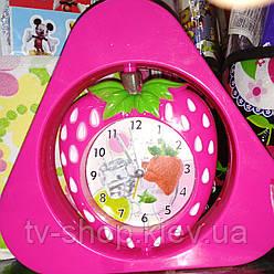 Годинник-будильник Полуниця