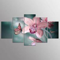 YSDAFEN 5 штук Холст Prints Модульные картины Wall Art для гостиной Home Decoracion 30x40cмx2+30x60cмx2+30x80cмx1 (12x16дюймовx2+12x24дюйм