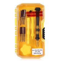 AC-9212 Практичный набор инструментов для ремонта и обслуживания Жёлтый и чёрный