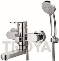 Смеситель для ванны короткий гусак TROYA LAB3-A136