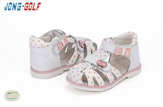 Детские босоножки Jong Golf для девочки, р-р 22-27 (А) (8 ед в уп)