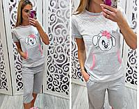 Женская пижама c собачкой