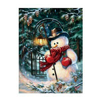 Naiyue 7265 Снеговик Print Draw Алмазный рисунок 1 шт