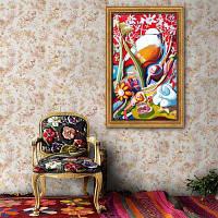 Специальная конструкция Каркас Картина Белая Птица Печать 20 x 14 дюймов (50cм x 35cм)