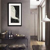Специальная конструкция Каркасные картины Древняя рыба Печать 20 x 14 дюймов (50cм x 35cм)