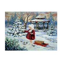 Naiyue 7262 Маленькая девочка Печать Draw Алмазный рисунок 1 шт
