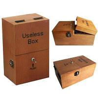 Поворачивая себя от бесполезной коробки, оставляйте меня одной машиной Собранные настоящие деревянные игрушки Творческие подарки Коричневый