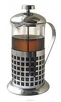 """Френч-пресс для чая и кофе """"Квадратики"""" 600 мл"""