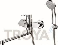 Смеситель для ванны длинный гусак TROYA LAB7-A136