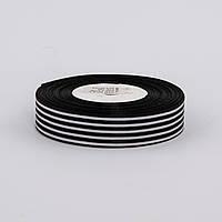 Лента атлас в полосочку 2.5 см
