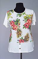 Красивая женская блуза из модной ткани