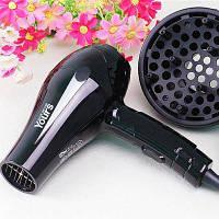 YOURS YR-6232 электрофен компактный домашний складной черный Чёрный