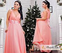 Вечернее платье в греческом стиле батал Код:435619736