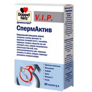 Доппельгерц VIP СпермАктив капсулы ,30 шт.- для стимулирования полового влечения .