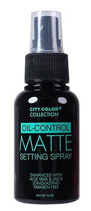 Матирующий спрей-фиксатор для макияжа City Color Matte Setting Spray, фото 2
