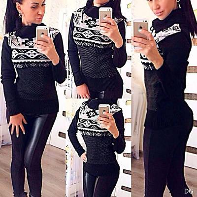 Женский свитер в4дг
