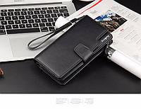 Кожаный портмоне - клатч ручной работы Baellerry