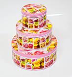 Коробка с крышкой из жести, 14,7х6,7 см, Печенье, Праздничная упаковка из жести, Днепр, фото 3