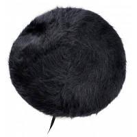 Винтаж французского стиля шерстяная смесь Берет Чёрный