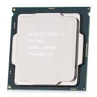 Intel Core i3 7100 двухъядерный процессор ЦПУ Серебристый