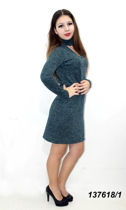Платье ангоровое с люрексом 42,44,46,48