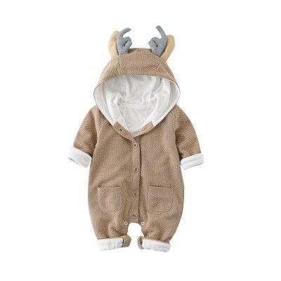 TAOQIMAIDOU Детская одежда Осень Мальчик Девочка Установить Мода Детская одежда Новорожденный Romper 6 м - ➊ТопШоп ➠ Товары из Китая с бесплатной доставкой в Украину! в Киеве