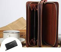 Кожаный портмоне-клатч Baellerry