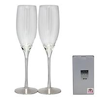 7047-15 Набор бокалов для шампанского Сердце 2шт 220мл