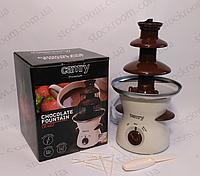 Шоколадный фонтан Camry CR 4457 трёхъярусный, фото 1
