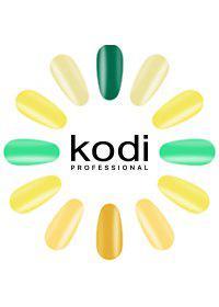 "Гель-лаки Kodi Professional ""Basic collection"" Green&yellow (GY) 8 мл"