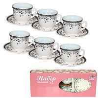 30055-15023 Набор чайный 12 пр.(чашка-190мл, блюдце-14см)  'Мильфлер'