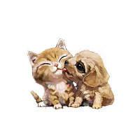 Naiyue 7212 Кошки и собаки Print Draw Алмазный рисунок RAL1001 Бежевый